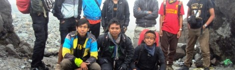 Pendakian Gunung Merapi 2.968 Mdpl