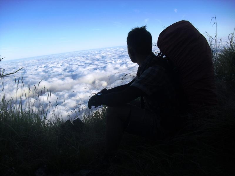 Eko Syamsudin di Gunung Sindoro