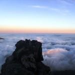 Maka nikmat Tuhan mana lagi yang kau dustakan? Senja (Sunrise) di Gunung Sindoro, Setitik tanah Surga di Indonesia.