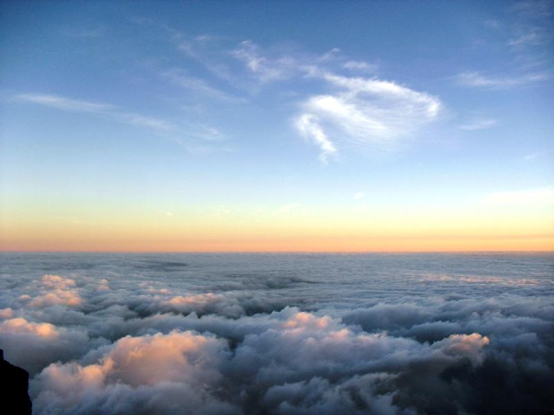 Senja (Sunrise) di Gunung Sindoro, Setitik tanah Surga di Indonesia