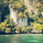 sebagian sudut di phi phi island